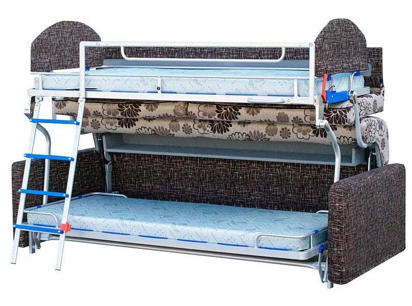 Двух этажная кровать диван